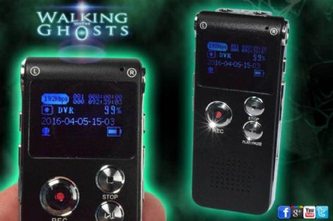 EVP Digital Audio Voice  Recorder 8Gb Paranormal Equipment